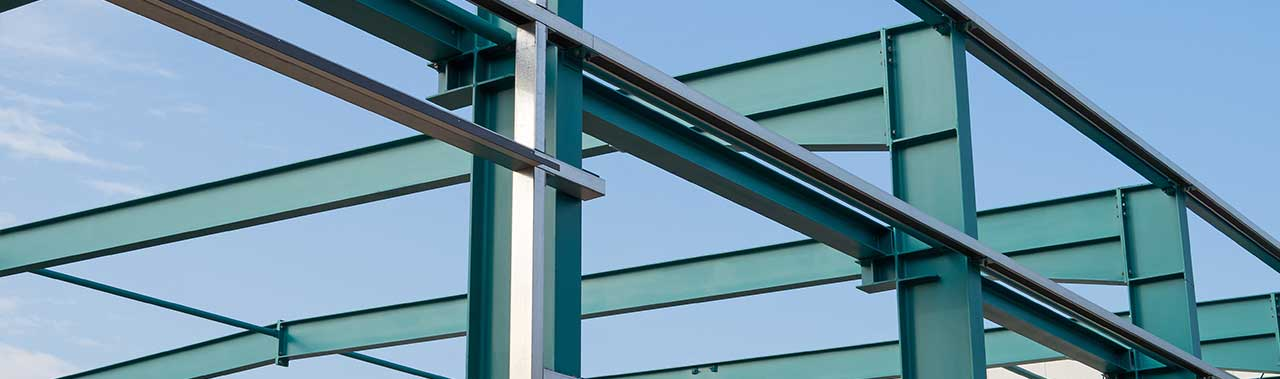 Stahlkonstruktion Halle MH Erdbau