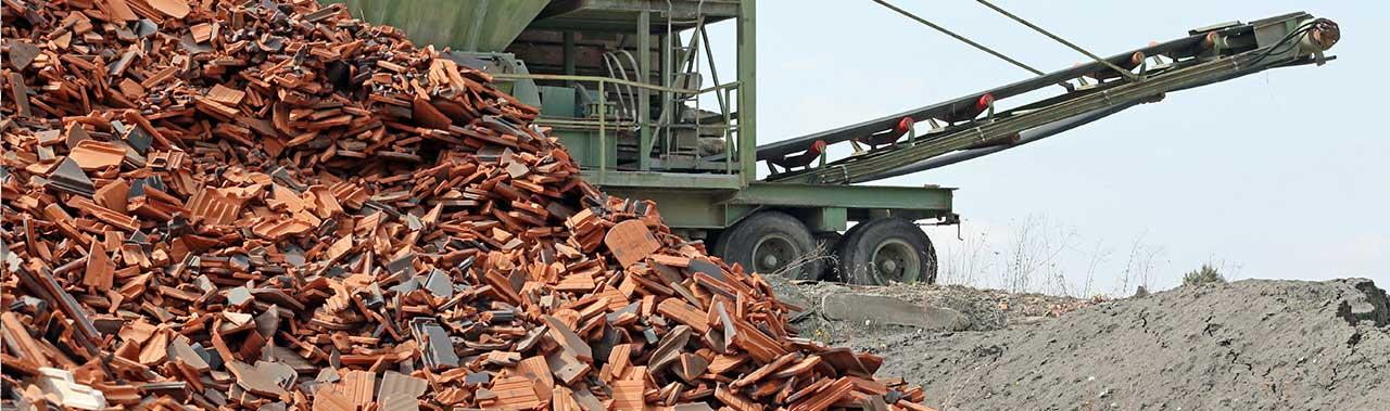 Ziegel Recycling MH Erdbau